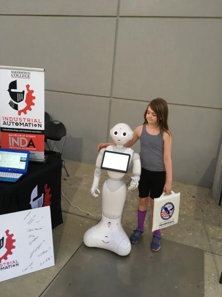 瓦莱丽和胡椒机器人