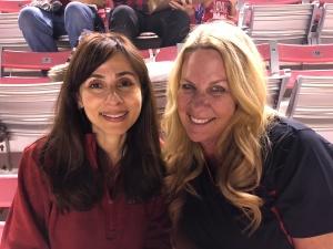 Sonya Christian and Kimberly Bligh