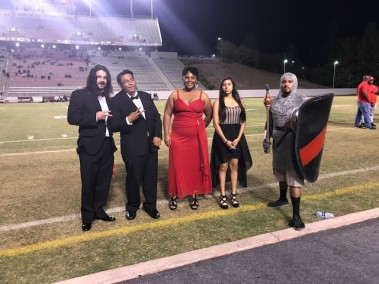 the 5 of the homecoming court