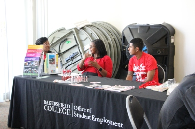 Booths at the Roadmap to Public Health Degrees & Careers event.