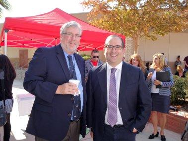 Tom Burke和Jeff Flores,2018年11月5日