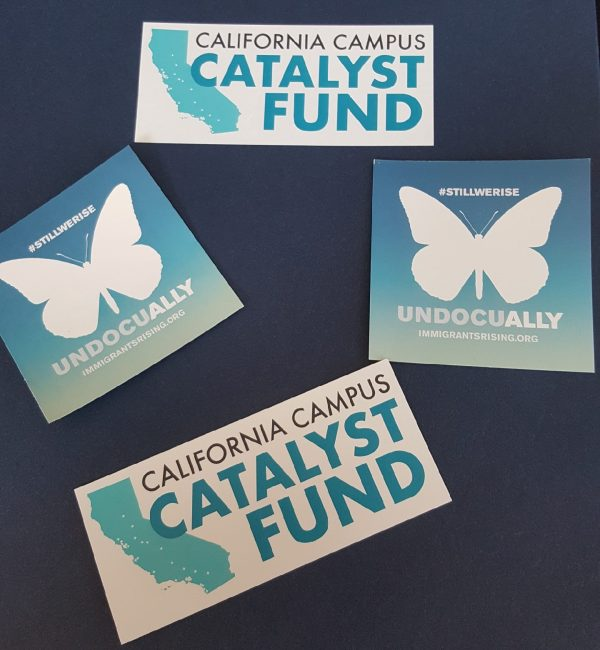 California Campus Catalyst Fund #stillwerise undocu-ally immigrantsrising.org handouts
