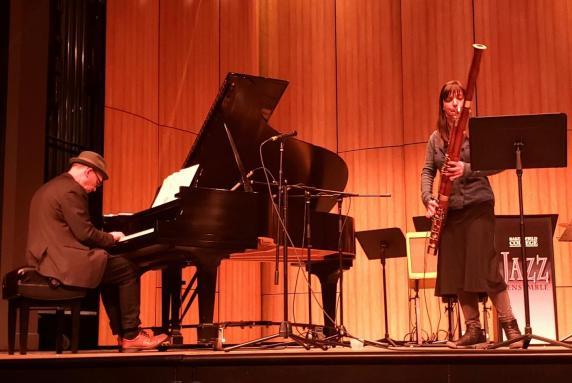 Wayne Horvitz and Sara Schoenbeck