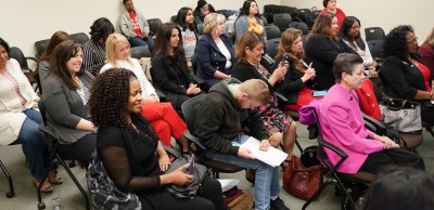 Attendees at Womens Panel