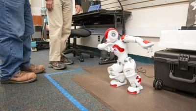 Robot in BC's Robotics Lab