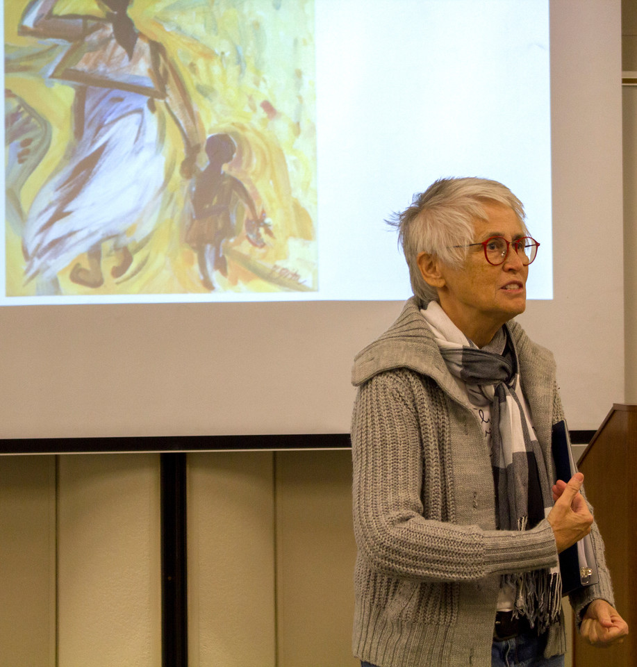 Poet Anke Hodenpijl recites a poem she wrote about Indonesia and growing up as an Indo-Dutch woman in America.