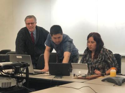 Craig Hayward, Dean of Institutional Effectiveness  Justin Curtin, CSU IT Support  Erica Menchaca, BC Faculty