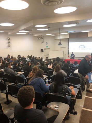 Students at the MESA STEM & Pre-Med Guided Pathways Conference