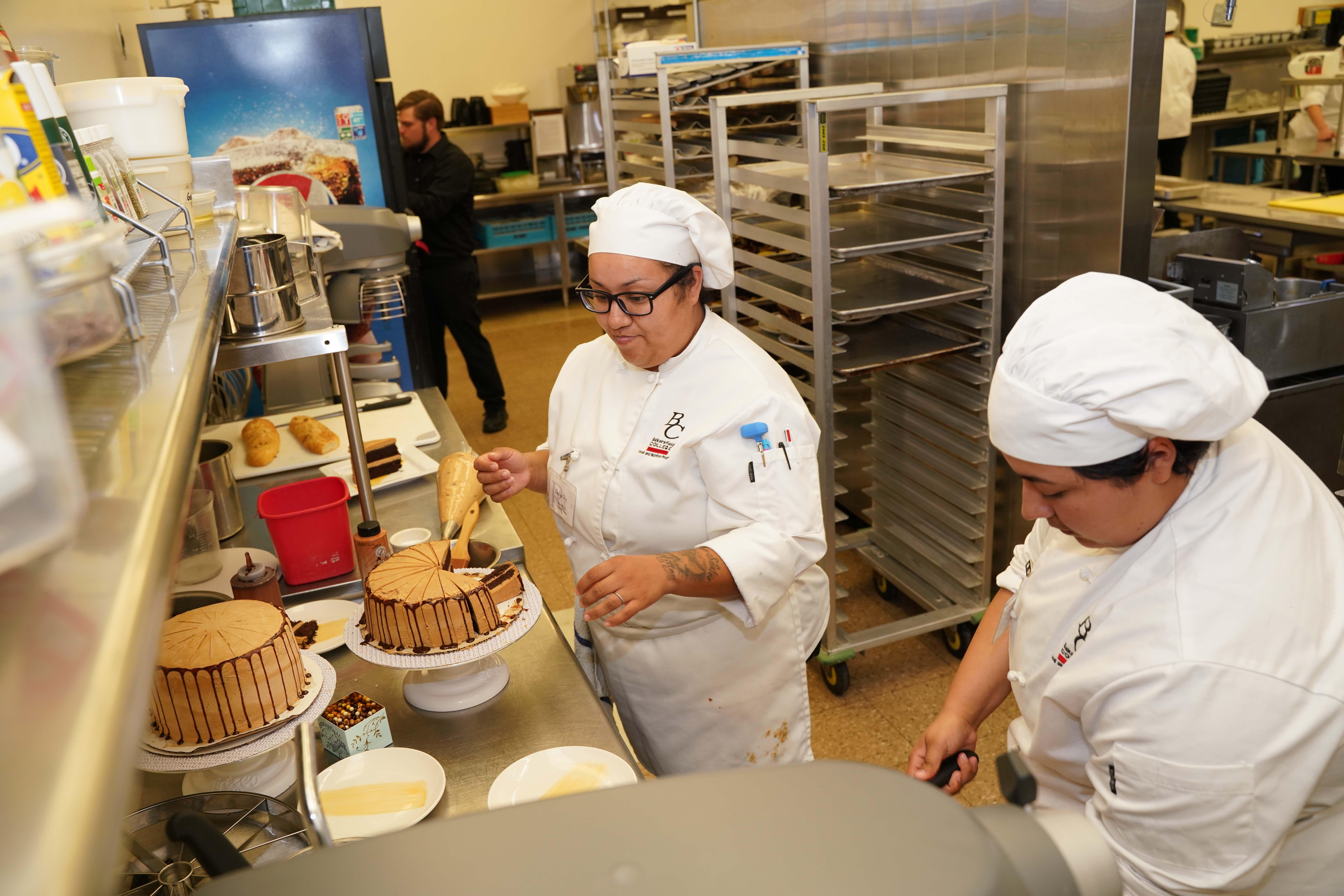 BC Culinary Arts student baking