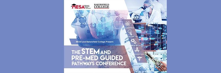STEM and Pre-Med Conference flyer