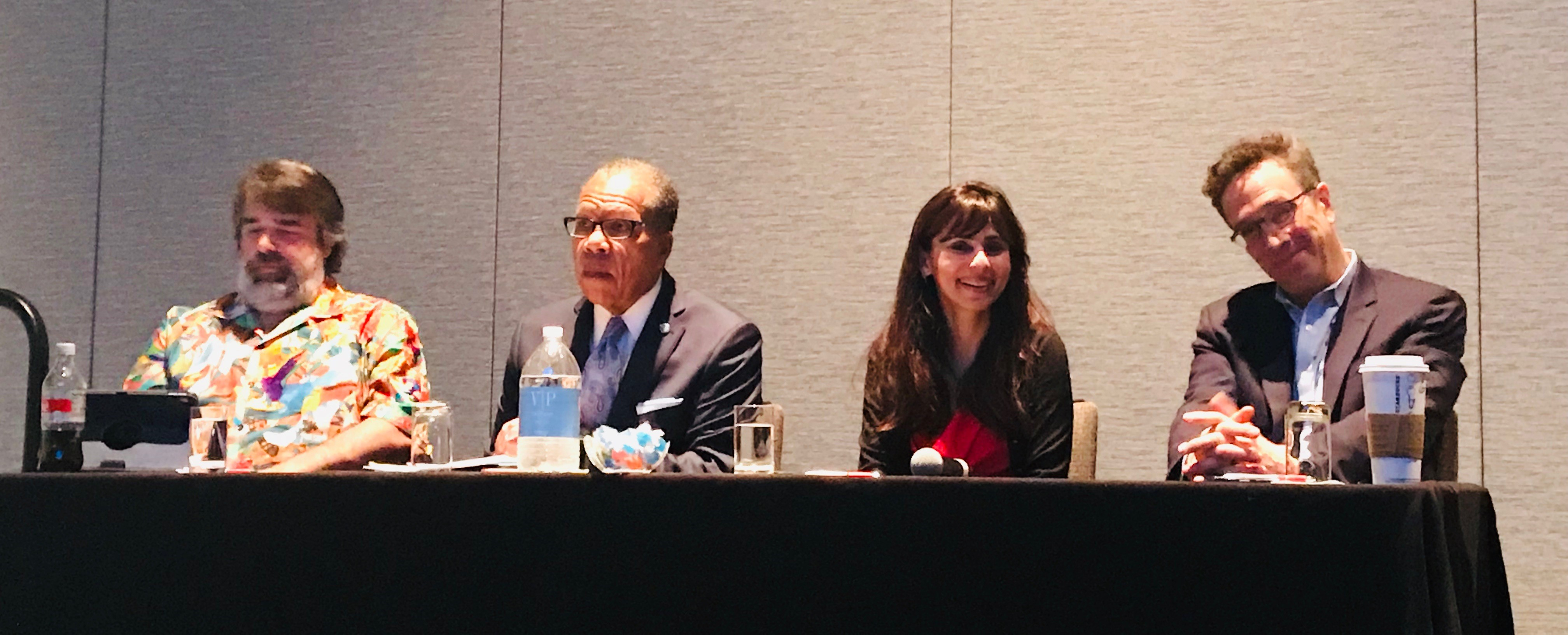 Panelists at the American Association of Community Colleges 2019 National Convention