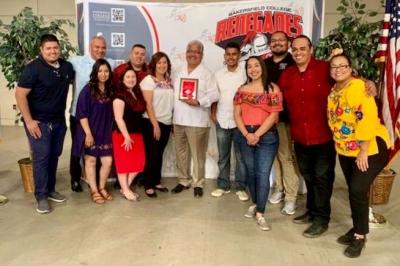 Chicano Latino anniversary group