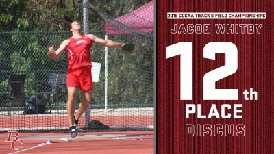 2019 CCCAA Track & Field Championships Jacob Whitby 12th place discus.