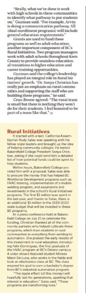 Erin Auerback on Rural Initiaitves Bakersfield Life pg 2