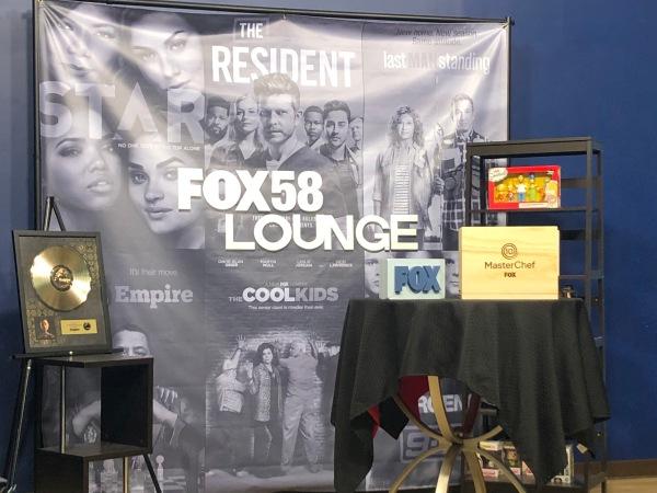 Fox58 Lunge studio.