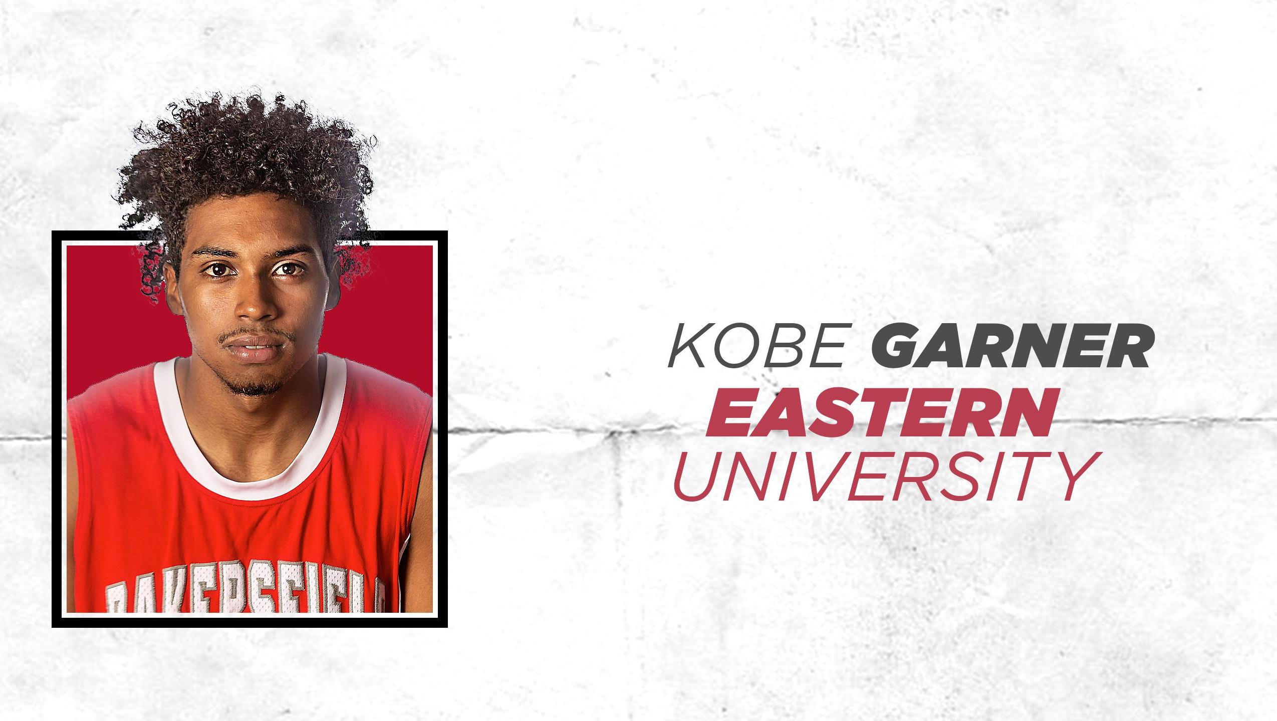 Kobe Garner Eastern University.
