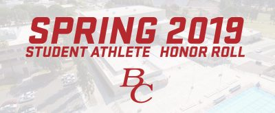 Spring 2019 Student Athlete Honor Roll BC.