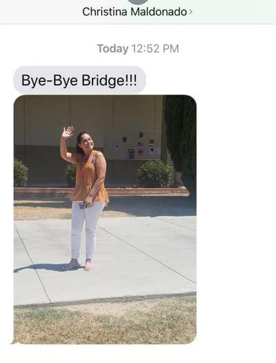 Bye-Bye Bridge from Christina Maldonado.